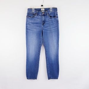 J. Crew Lookout High Rise Skinny Cropped Jean